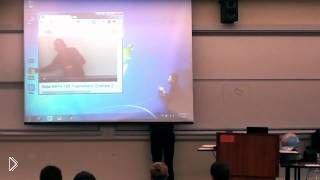 Смотреть онлайн Крутой препод по тригонометрии развеселил студентов