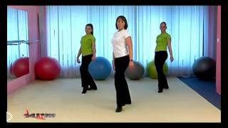 Смотреть онлайн Урок интенсивной танцевальной аэробики