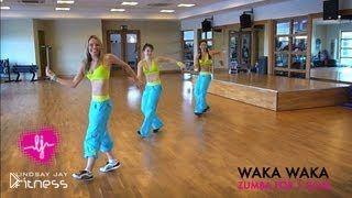 Смотреть онлайн Урок фитнеса: танец зумба для похудения