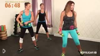 Смотреть онлайн Фитнесс программа танца зумба для похудения
