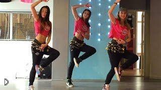 Смотреть онлайн Танец зумба: интенсивная тренировка