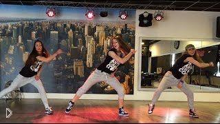 Смотреть онлайн Фитнес танцы зумба для похудения