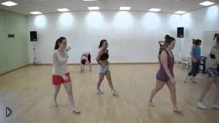Смотреть онлайн Зумба танцевальная фитнесс программа для похудения