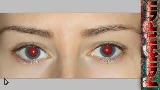 Смотреть онлайн Как убрать эффект красных глаз в фотошопе