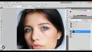 Урок ретуши фотографии лица в фотошопе - Видео онлайн