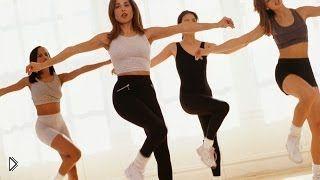 Смотреть онлайн Урок упражнений танцевальной аэробики