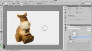 Смотреть онлайн Как сделать красивый белый фон в фотошопе