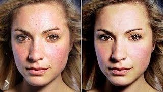 Смотреть онлайн Как сделать ретушь идеальной кожи в фотошопе