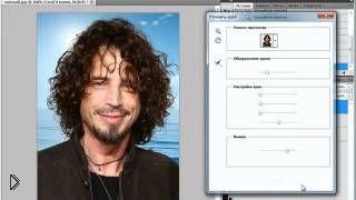 Смотреть онлайн Как выделить волосы в фотошопе: 2 способа