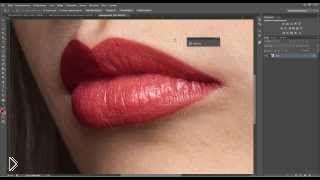 Смотреть онлайн Как изменить, нарисовать и обработать губы в фотошопе