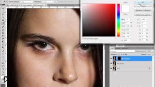 Смотреть онлайн Урок фотошопа: как сделать гладкую кожу
