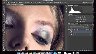 Смотреть онлайн Как в фотошопе сделать красивые брови