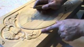 Смотреть онлайн Плоскорельефная резьба по дереву для начинающих