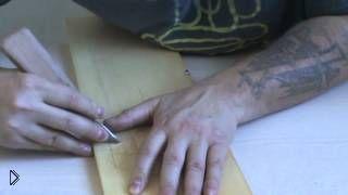 Смотреть онлайн Урок технологии геометрической резьбы по дереву