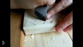 Урок № 1 о технологии геометрической резьбы по дереву - Видео онлайн