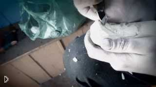 Смотреть онлайн Как вырезать домового из дерева по рисунку