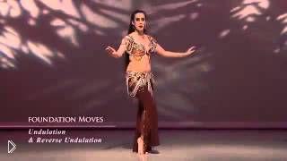 Как делать волну телом в танце животом - Видео онлайн