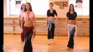 Смотреть онлайн Восточный танец живота от профессиональной танцовщицы