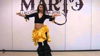 Смотреть онлайн Первый урок восточного танца живота