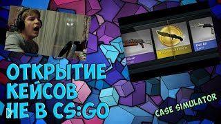 Смотреть онлайн Играем в симулятор кейсов CS GO