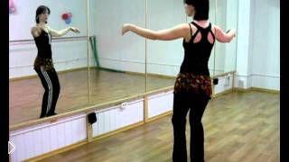 Смотреть онлайн Восточный танец для начинающих: движение точки вверх