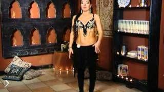 Смотреть онлайн Урок восточных танцев с Аллой Кушнир