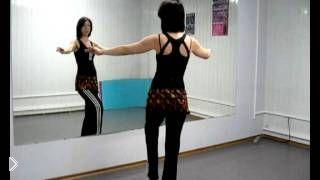 Смотреть онлайн Восточные танцы для начинающих: как делать «сброс»