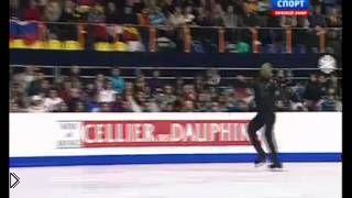 Смотреть онлайн Падение Плющенко на чемпионате Европы 24.01.2013