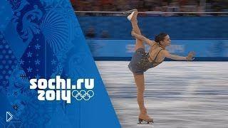 Смотреть онлайн Аделина Сотникова в Сочи 2014, фигурное катание