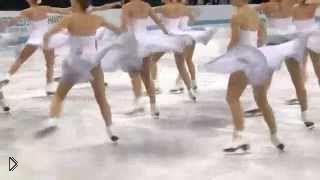 Смотреть онлайн ЧМ по синхронному катанию 2013, команда России