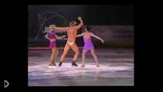Смотреть онлайн Евгений Плющенко и его знаменитый танец