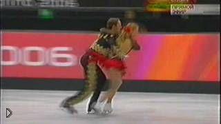 Смотреть онлайн Навка и Костомаров ПП в Турине, 2006