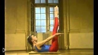 Смотреть онлайн Небольшой комплекс упражнений по калланетике