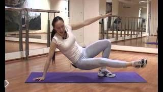 Смотреть онлайн Калланетика для продвинутых, основа упражнений - планка