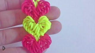 Как сделать браслет Переплетение сердец с крючком - Видео онлайн