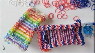 Урок плетения чехла из резинок для смартфона - Видео онлайн