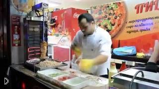 Смотреть онлайн Один из самых быстрых поваров в России