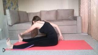 Смотреть онлайн Тренируем спину по технике пилатес