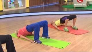 Смотреть онлайн Программа упражнений пилатес от Кейт Уинслет