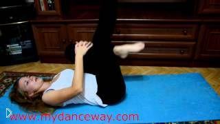 Смотреть онлайн Укрепляем корпус, упражнения пилатес