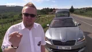 Смотреть онлайн Шкода Суперб обзор авто