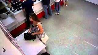 Девушка совершила беспощадное ограбление - Видео онлайн