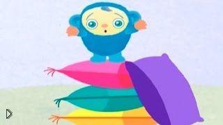 Смотреть онлайн Мультфильм для детей до 1 года: играем в прятки
