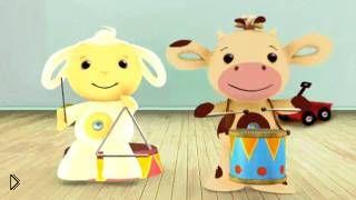 Смотреть онлайн Развивающий мультфильм для малышей до года, Тини Лав