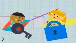 Смотреть онлайн Мультфильм о геометрических фигурах от Эдди и Мэдди