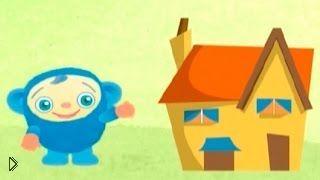 Смотреть онлайн Игра в прятки, мультфильм для детей до года