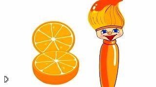 Смотреть онлайн Кисточка Петти рассказывает об оранжевом цвете