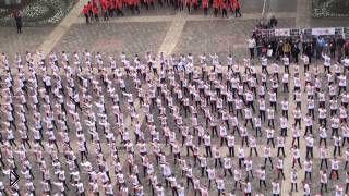 Смотреть онлайн Флешмоб в честь дня победы в Пятигорске