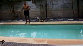 Смотреть онлайн Бесконечный бассейн для тренировок у Вас дома