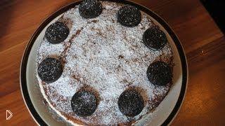 Смотреть онлайн Простой повседневный тортик Нежный
